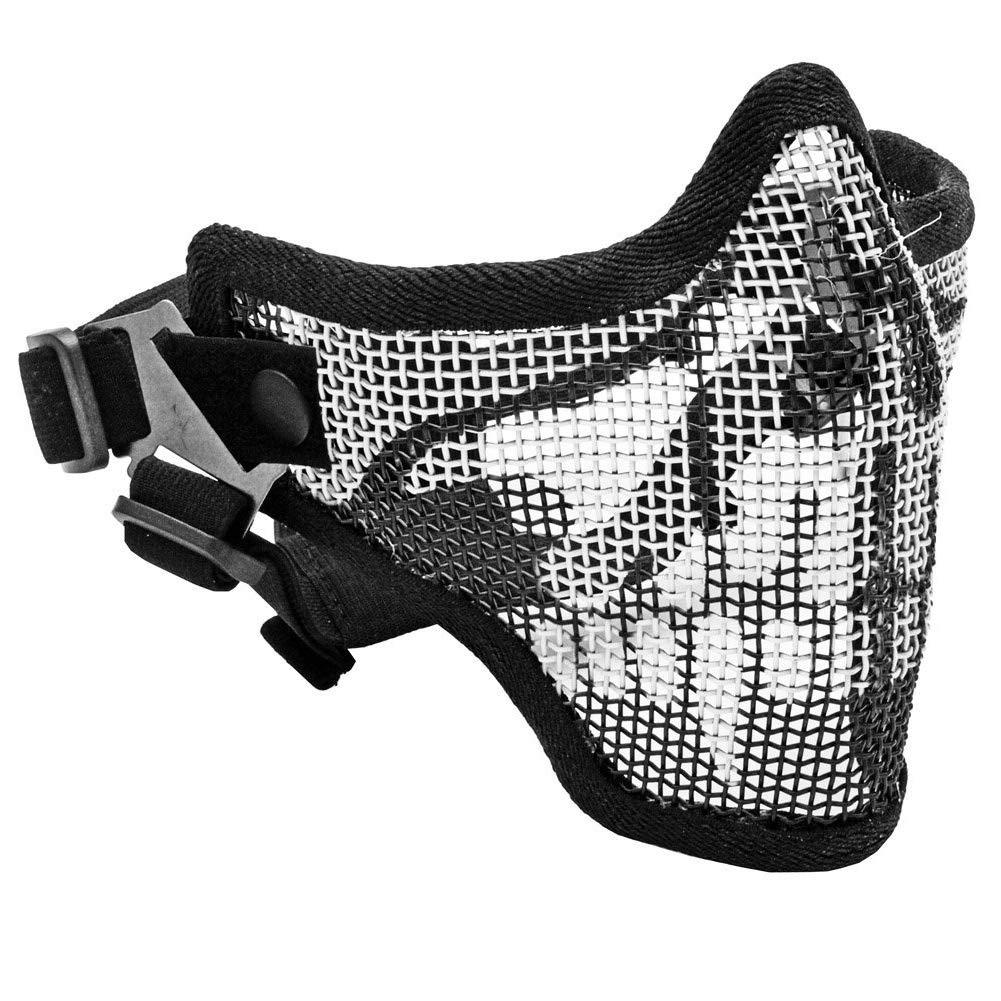 Upper Tactical Crusader 2G Airsoft Strike Steel - Máscara de Media máscara