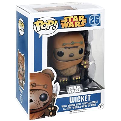 Funko POP Star Wars: Wicket: Toys & Games