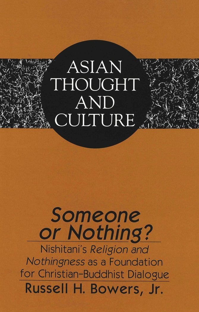 Someone or Nothing? (Asian Thought and Culture)
