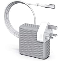 """SUAMLAND Compatible with MacBook Charger, MacBook Pro Charger Replacement 60W Magsafe 1 L-Tip Power Adapter Charger Work With MacBook Air 11"""" & 13"""" and MacBook Pro 13"""" Before Mid 2012 (A1278)"""