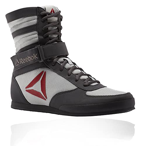 Reebok Boxing Boot-Buck, Zapatillas de Boxeo para Hombre, Gris (Ash Skull Grey/Excellent Red/White 000), 48.5 EU: Amazon.es: Zapatos y complementos