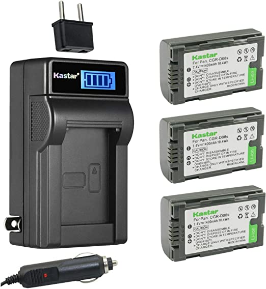 Micro USB Battery Charger for Panasonic NV-GS7 NV-GS15 Camcorder NV-GS11