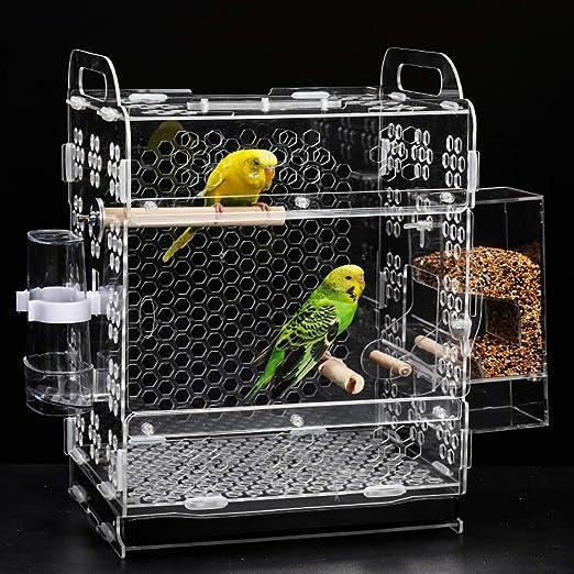 QNMM Parrot Cage Farming Creative Creator Systems Forraje Corral ...