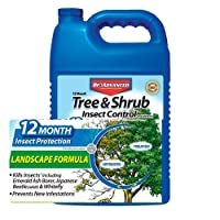 BioAdvanced 701525A Month Tree and Shrub Insect Control, 1 gal, Concentrate