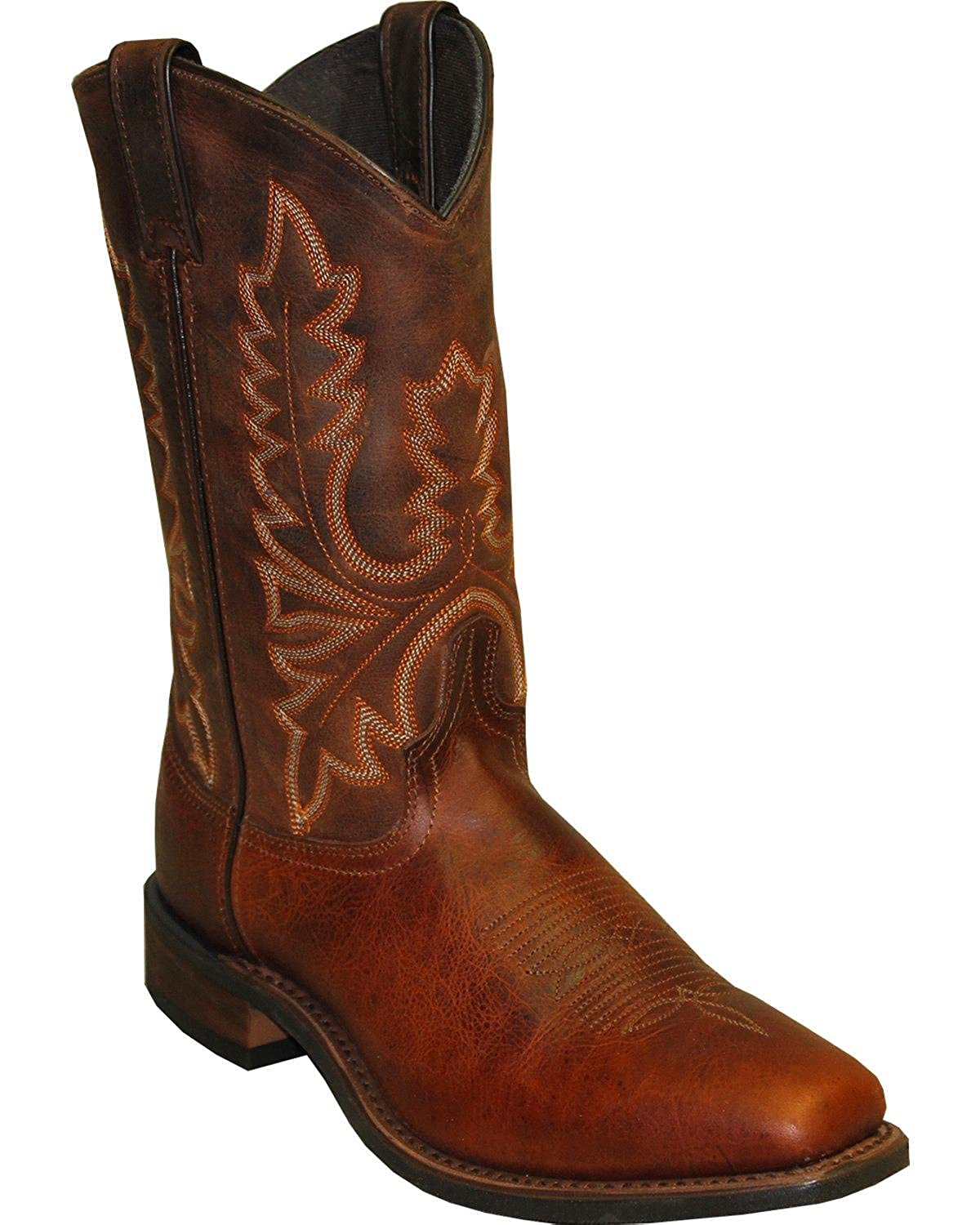 Abilene Men's Stockman Cowboy Boot Square Toe - 6738