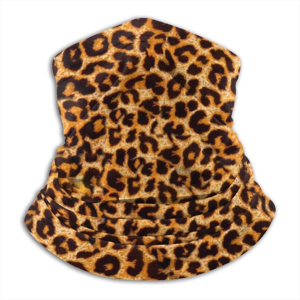 Neck Warmer Sports Anti Dust UV Masks for Women Men Animal Leoprad Print Rose Floral Face Mask Neck Gaiter