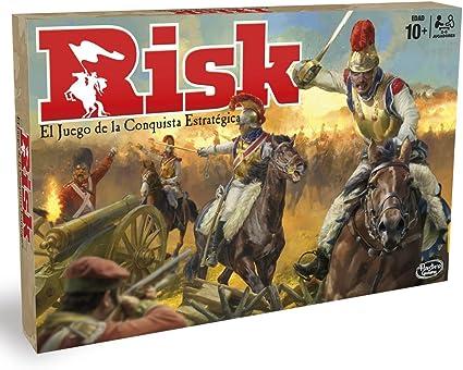 Hasbro Gaming Juego de mesa Risk, Hasbro B7404105: Amazon.es: Juguetes y juegos