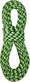 product image for BlueWater Ropes 10.5mm Accelerator Standard Dynamic Single Rope (Neon Green/Black, 60M)