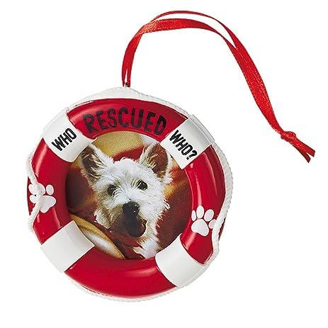 Amazon.com - Hallmark Rescue Pet Frame Ornament -