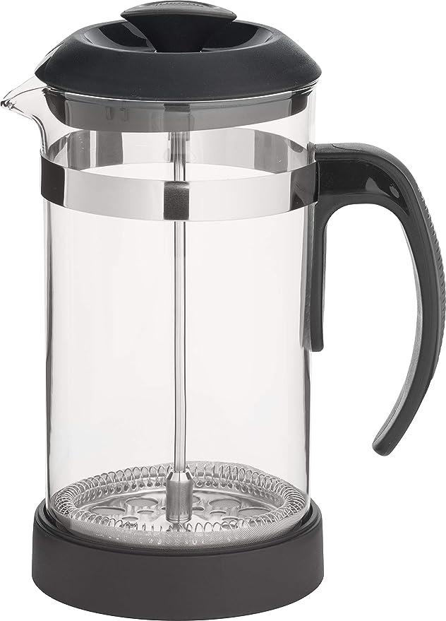 Trudeau 5050439 - Cafetera de émbolo (borosilicato, 1 l), Color ...