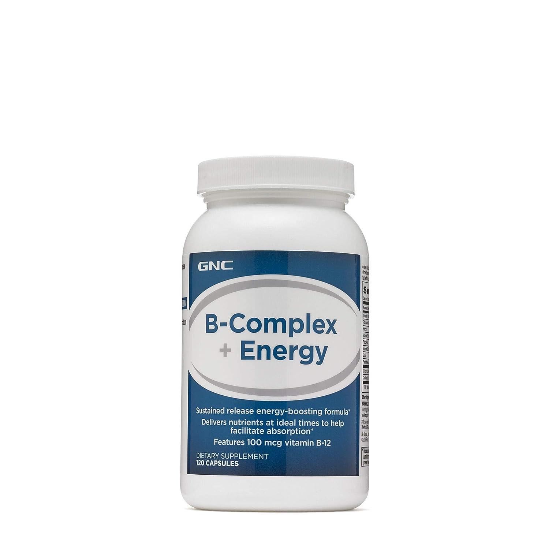 GNC B-Complex Plus Energy, 120 Capsules