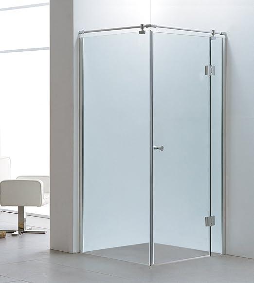 Mampara de ducha Ducha esquina. esquina ducha Cristal 90 X 90 ...