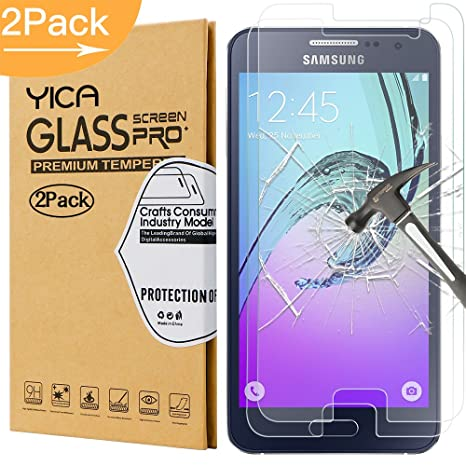 SONWO Schutzfolie f/ür Galaxy A3 2016 Panzerglas HD Displayschutzfolie f/ür Samsung Galaxy A3 2016 Anti-/Öl Anti-Kratzen 9H H/ärte Panzerglasfolie 1 St/ück