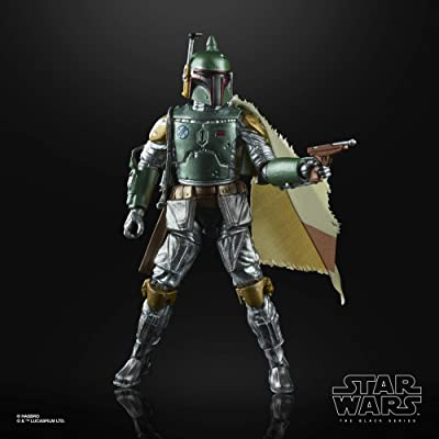 Star Wars SW BL Carbon 2ND Metallic Boba Fett: Toys & Games