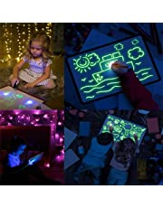 CBCA Doodle Drawing Mat Draw avec Fun Fun et Drawing Board Magic Pen, Jouets éducatifs portatifs Hi-Tech Planche à Dessin pour Les Enfants, Dessiner, Doodle, Art, Write (A3)