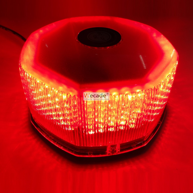 Wecade/® NEW Bright 240 LED Truck Vehicle Car Roof Top Flash Strobe Emergency Warning Hazard Warning Light Red