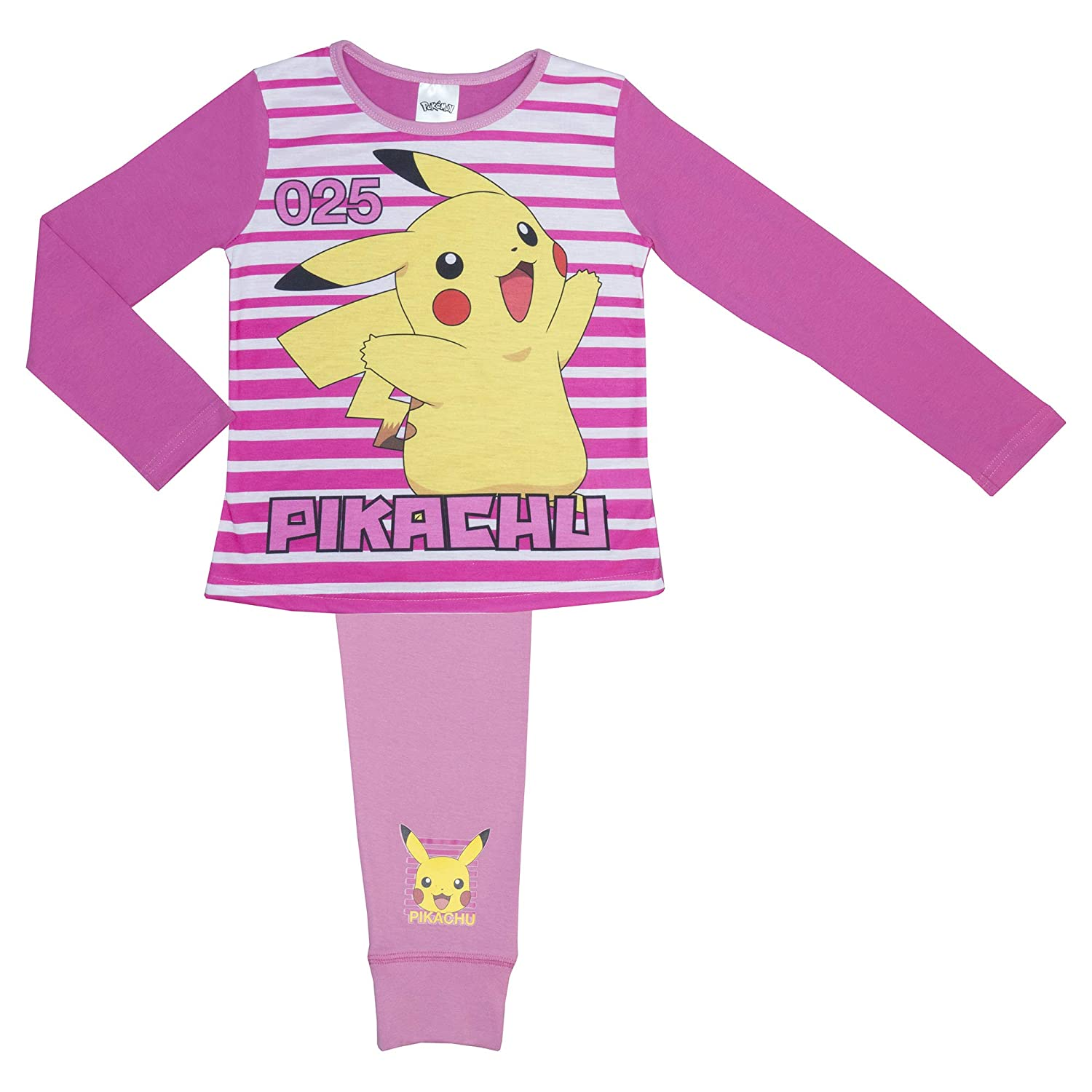 Cartoon Character Products Disney Girls Pokemon Pyjamas Ages 5-12 Years