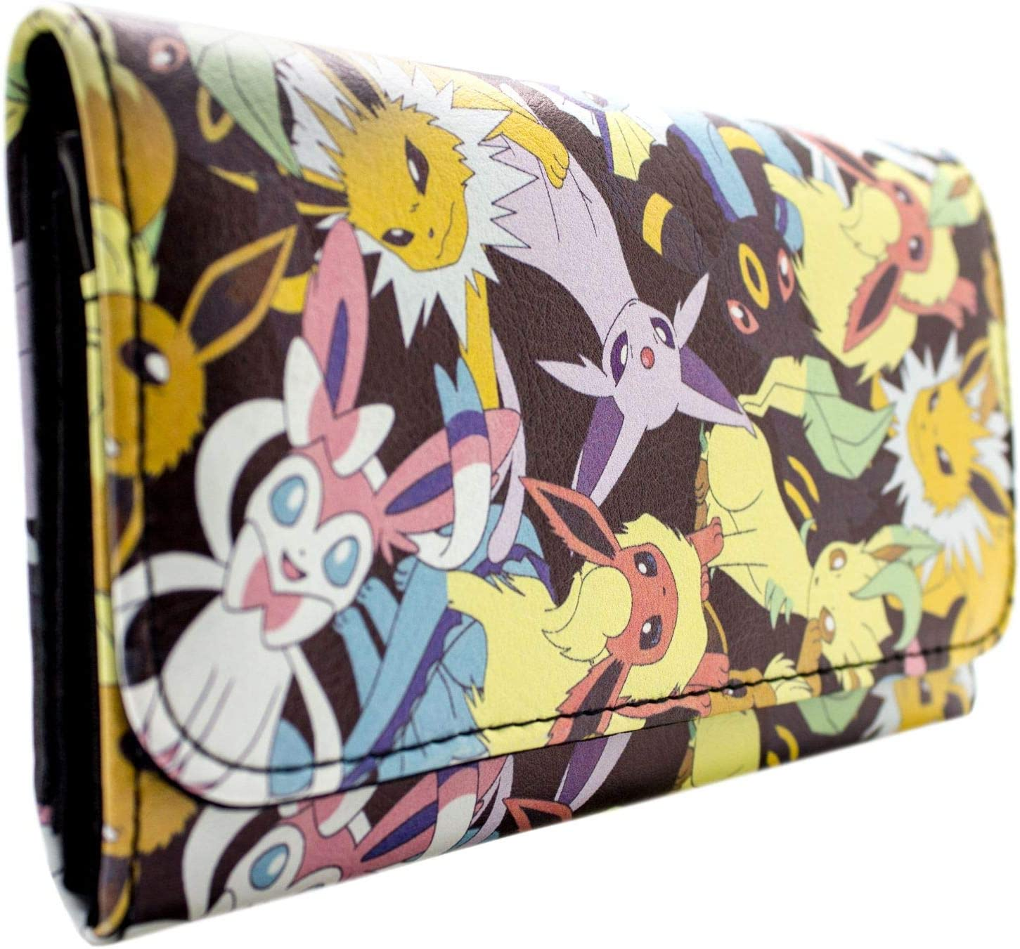 Cartera de Nintendo Pokemon Evoluciones eevee Negro: Amazon.es ...