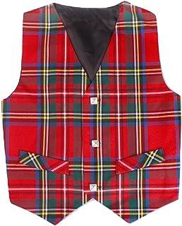 8505758c087a Amazon.com: Bonnie Jean Jeffrey Banks Toddler Boys Tartan Plaid Vest ...