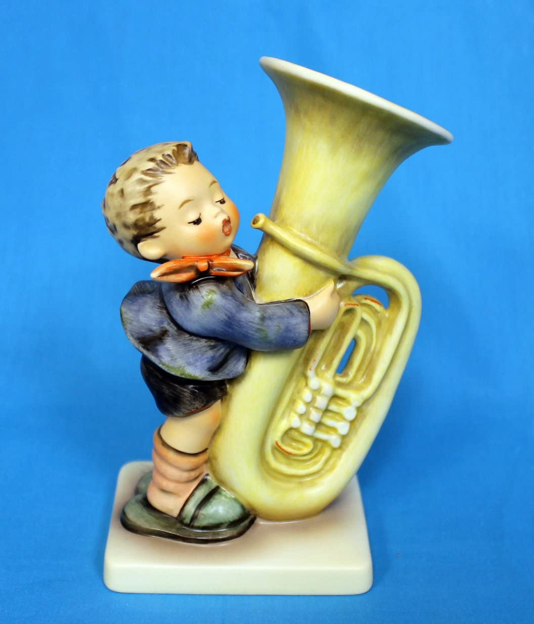 Hummel Figurine, 437 Tuba Player, 6.25 H