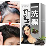 Ochine Black Hair Shampoo Grey Hair Removal Dye