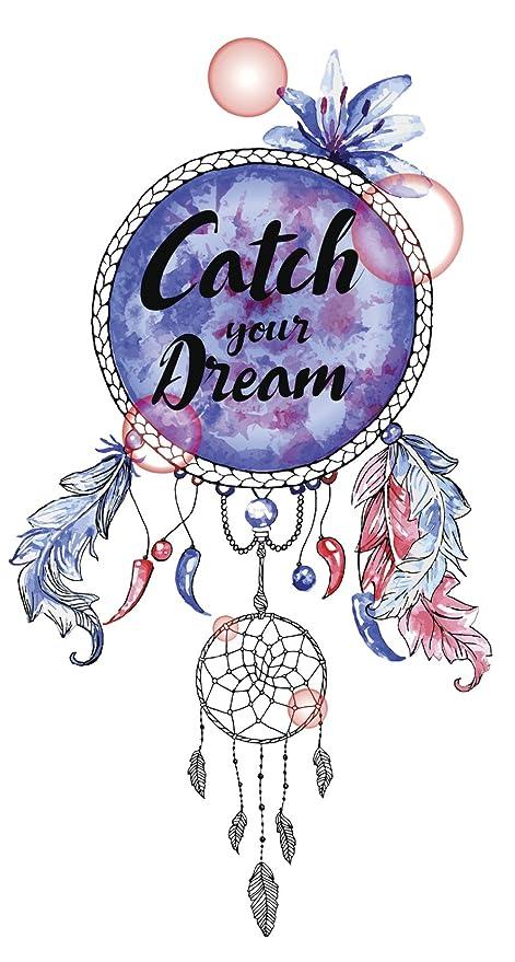 Amazon Catch Your Dream Calligraphy On Pastel Watercolor Dream New Water Color Dream Catcher