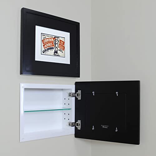 Fox Hollow Furnishings Landscape Recessed Picture Frame Medicine Cabinet 14 W x 11 H