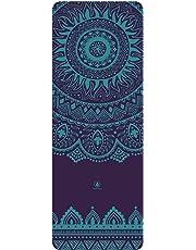 Homfa Esterilla de Yoga Esterilla de Gimnasia de Caucho Natural Yoga Mat Antideslizante 2-in