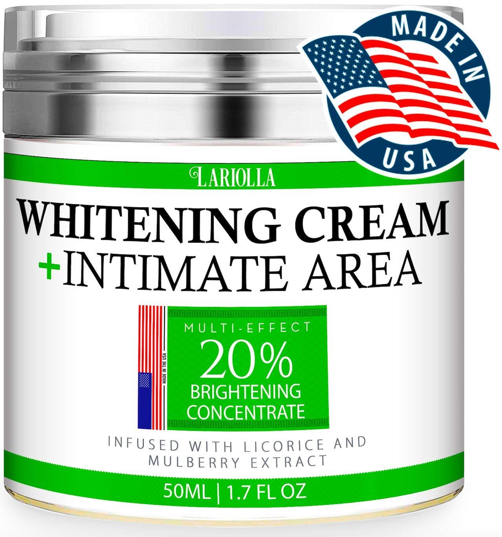 Crema blanqueadora para partes intimas