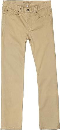 Amazon Com Jordache Premium Pantalones De Sarga Ajustados Para Hombre Con Mezclilla De Alto Rendimiento 11 8 X 11 8 In Color Marron Clothing