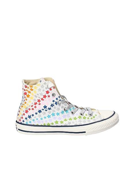 f5a8a52fa732d6 Converse All Star Bambina 661006C White Sneaker Primavera/Estate 36 ...