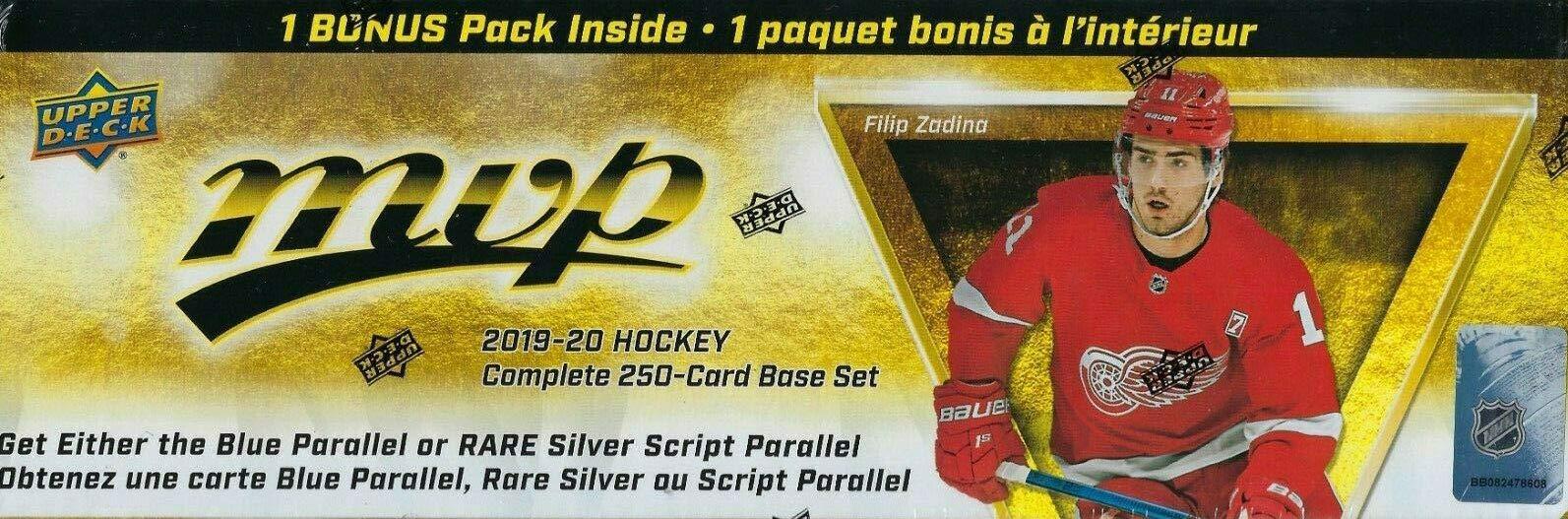 2019 2020 Upper Deck MVP Hockey Series Factory
