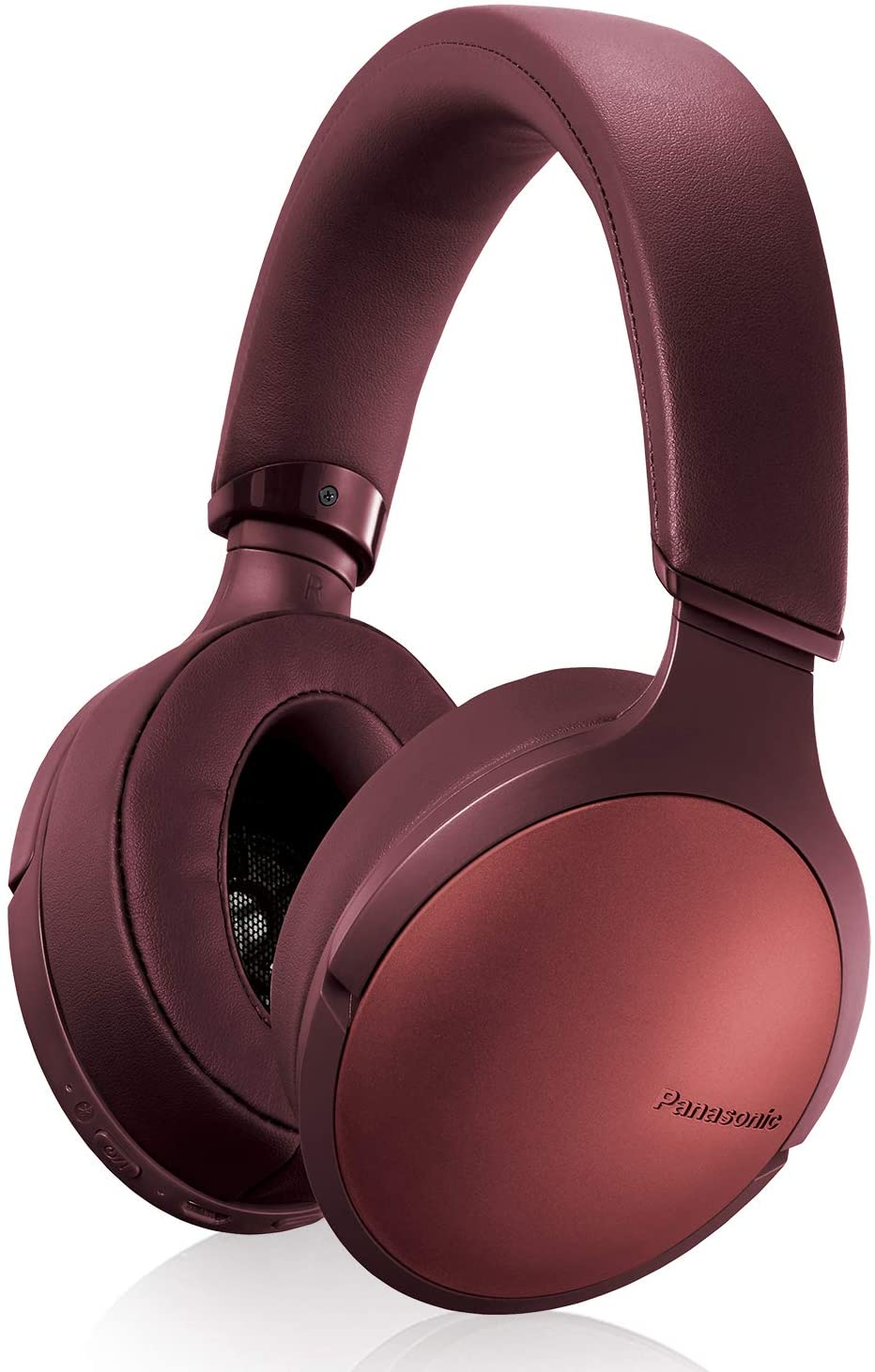 Panasonic Premium Hi-Res Wireless Bluetooth Over The Ear Headphones with 3D Ear Pads and 3 Sound Modes - RP-HD305B-T (Burnt Copper)