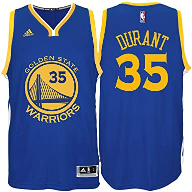 af842d0a01da Kevin Durant Golden State Warriors  35 Blue Youth Road Swingman Jersey  (Small 8)