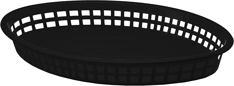 Tablecraft 1086BK Jumbo Serving Basket 12-3/4