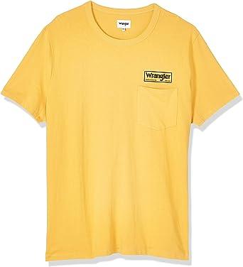 Wrangler SS Pocket tee Camiseta para Hombre: Amazon.es: Ropa y accesorios