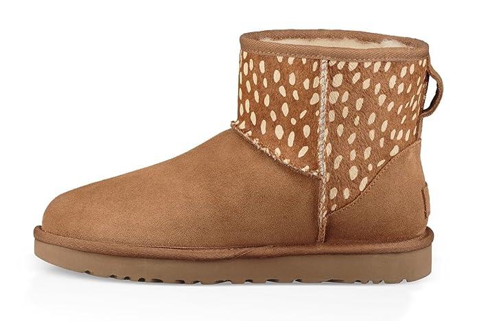 095e6b4cbac UGG - Boots Classic Mini II Idyllwild - Chestnut, Size:6 UK: Amazon ...