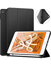 Ztotop Case for New iPad Mini 5th Generation 7.9 Inch 2019, Lightweight Full Body Protective Rugged Shockproof Case cover with iPad Pencil Holder, Auto Sleep/Wake, for 2019 iPad Mini 5 - Black