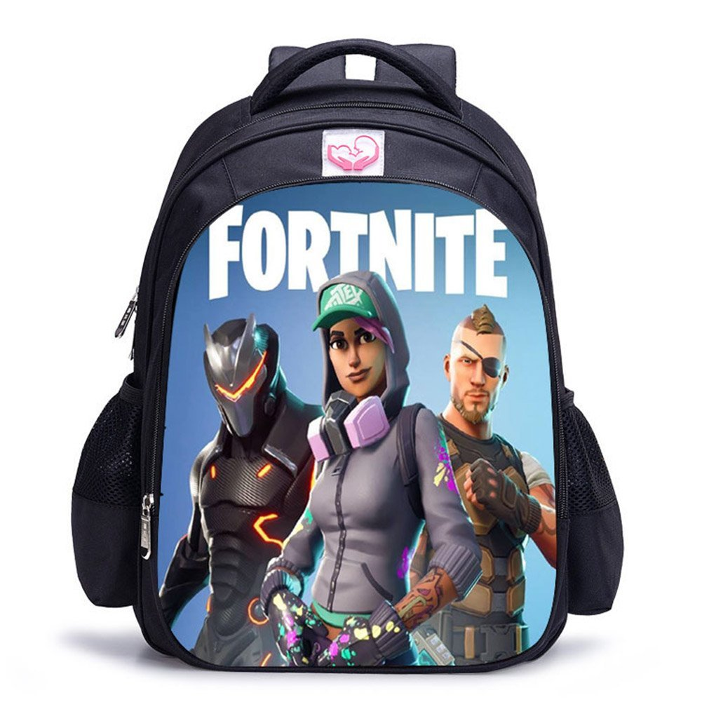 Aristory Fortnite Printing School Backpack Daily Backpack Hiking Bag for Teen Boys and Girls(M H02)