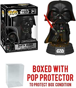 Darth Vader Electronic with Lights and Sound #343 Pop Movies Vinyl Figure (Includes Compatible Ecotek Pop Box Protector Case)