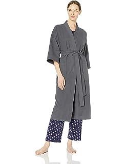 0ef7bbcb2a Chamois Microfiber Kimono Hotel Robe - Lightweight Absorbent Soft Spa  Bathrobe by Monarch Cypress