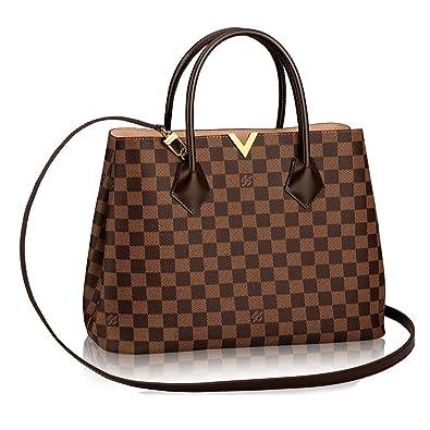 c333f92997be Authentic Louis Vuitton Damier Kensington Shoulder Handbag Article  N41435  Made in France  Handbags  Amazon.com