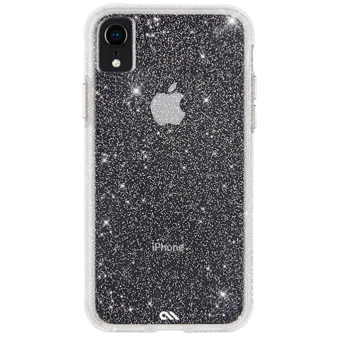 buy popular 1a005 97b9f Case-Mate - iPhone XR Case - SHEER CRYSTAL - iPhone 6.1 - Crystal Clear