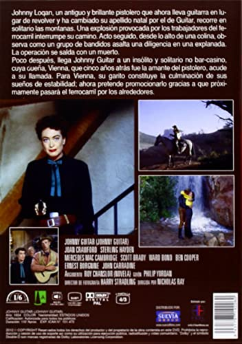 Johnny guitar dvd + bso: Amazon.es: Joan Crawford, Sterling Hayden ...