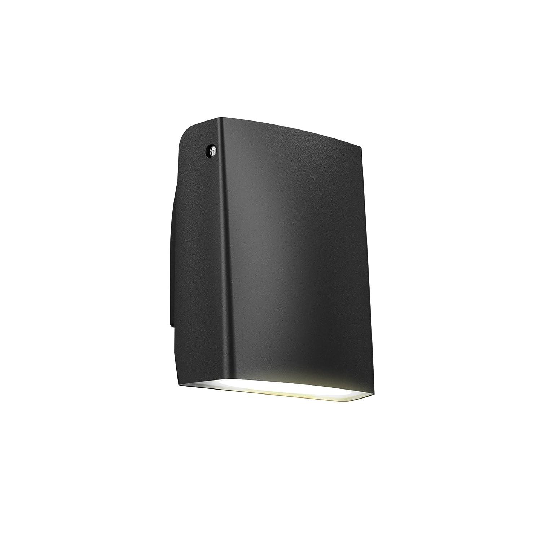 DALS Lighting 1180T-BK 6 Adjustable Indoor//Outdoor LED Wall Pack Black
