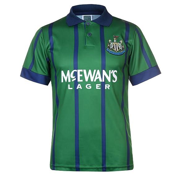 43a9ac47647 Score Draw Mens Newcastle United 1993 Third Shirt Retro: Amazon.co.uk:  Clothing