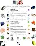 Crystal Stone set of 12 Healing Crystals.