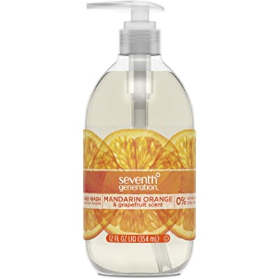 Seventh Generation Hand Wash, Fresh Citrus, 12 Ounce by Seventh Generation