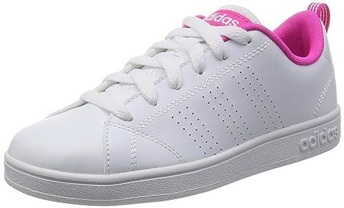 adidas VS Advantage Clean K - Scarpe da Ginnastica da Bambini, Taglia 35 1/