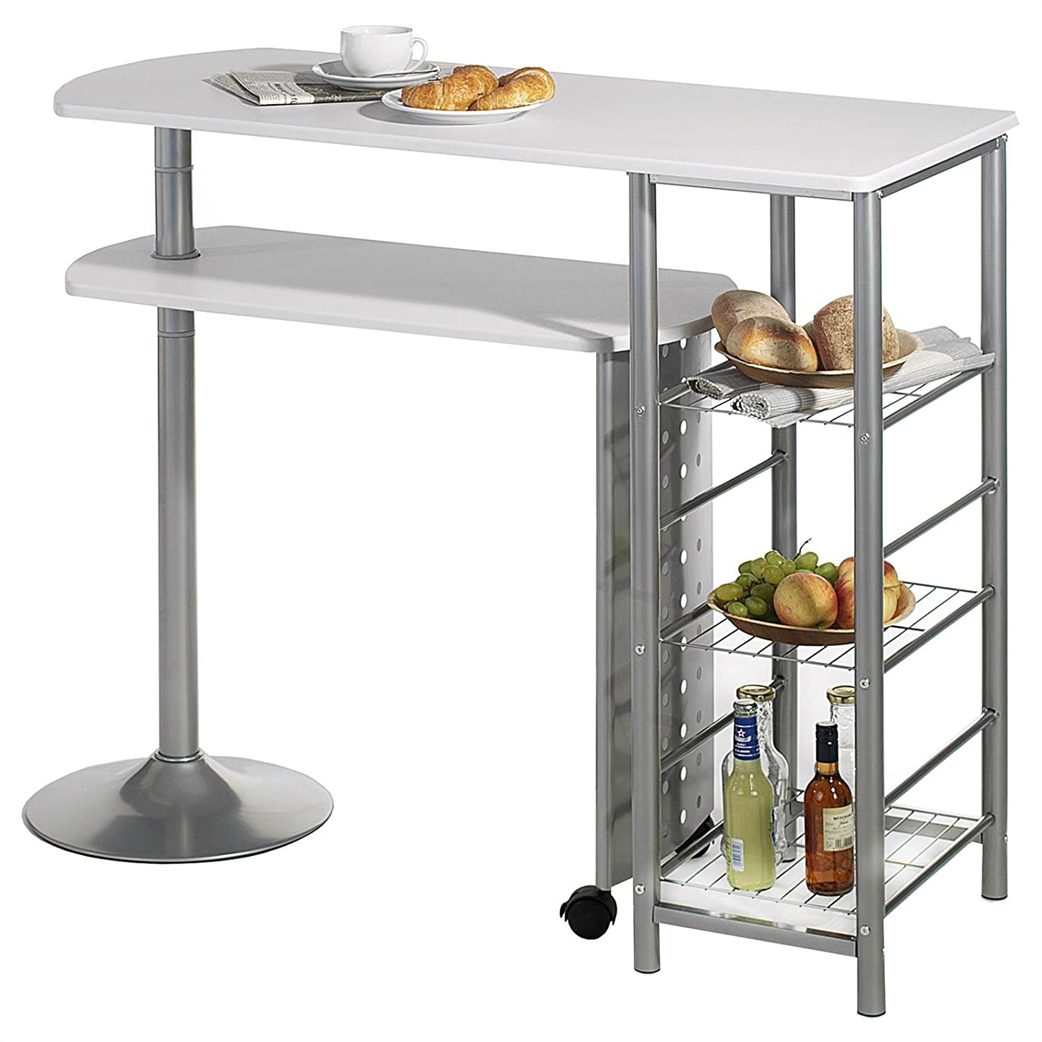 Table debout best les tables hautes en teck with table - Amazon table de bar ...